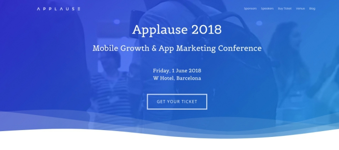 Applause 2018 Website