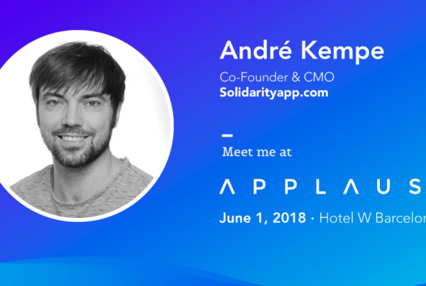 Interview with André Kempe from SolidarityApp