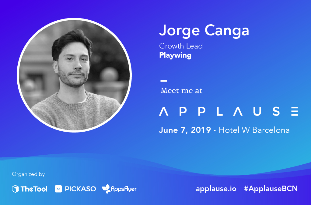 Introducing Jorge Canga from Playwing